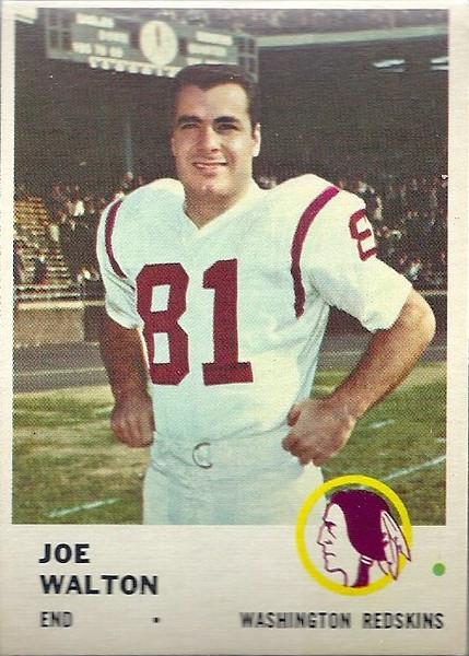 Joe Walton 1961 Fleer