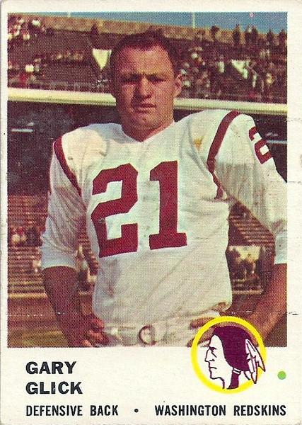 Gary Glick 1961 Fleer