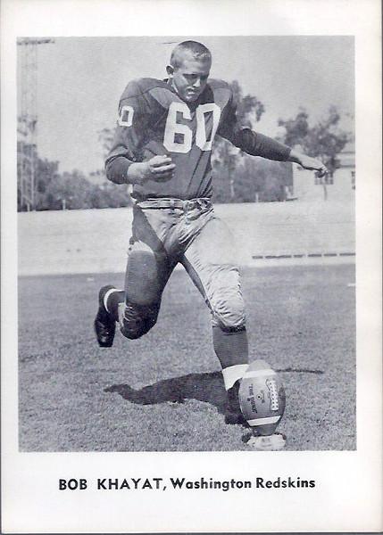 Bob Khayat 1961 Jay Publishing Redskins