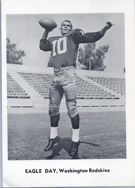 Eagle Day 1961 Jay Publishing Redskins