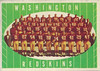 Redskins Team Card 1961 Topps
