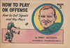 Sonny Jurgensen 1962 Post Cereal Booklet