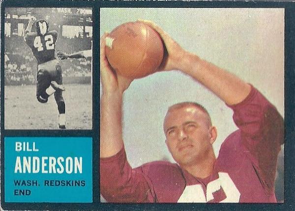 Bill Anderson 1962 Topps