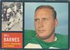 Bill Barnes 1962 Topps