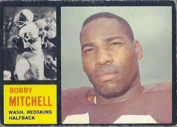 Bobby Mitchell 1962 Topps