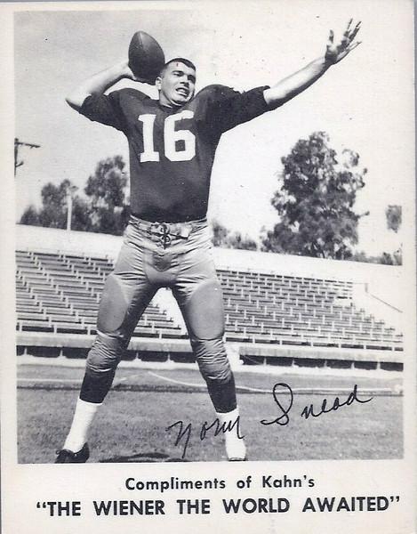 Norm Snead 1963 Kahn's