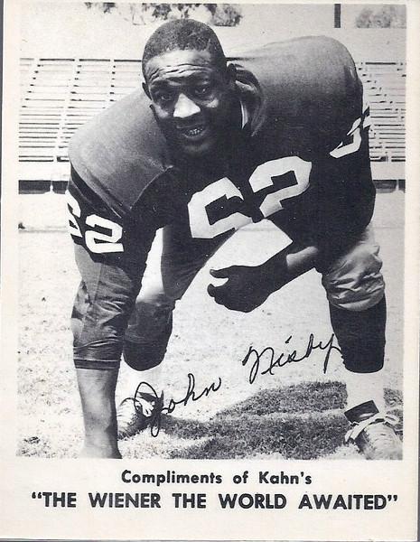 John Nisby 1963 Kahn's