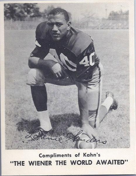 Lonnie Sanders 1963 Kahn's