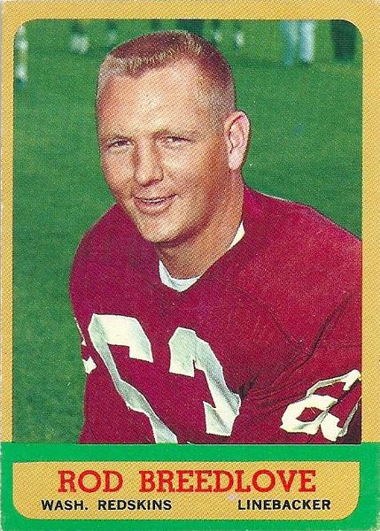 Rod Breedlove 1963 Topps