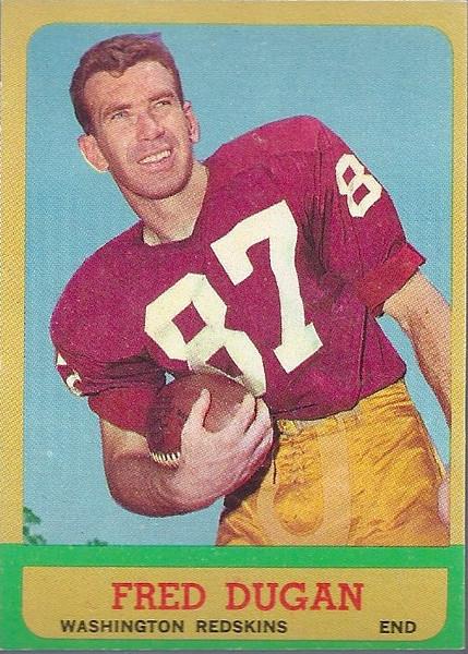 Fred Dugan 1963 Topps