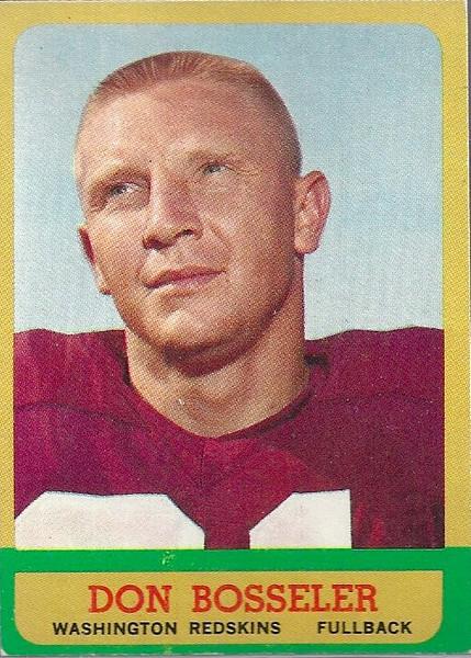 Don Bosseler 1963 Topps