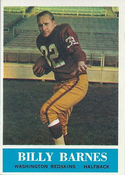 Billy Barnes 1964 Philadelphia