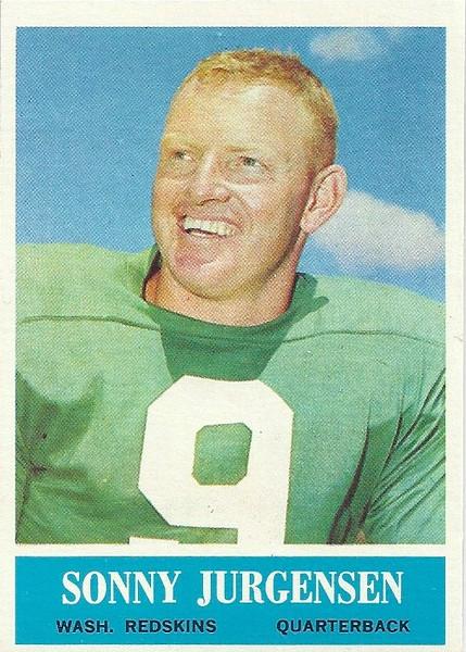 Sonny Jurgensen 1964 Philadelphia