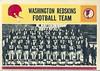 Redskins Team Card !964 Philadelphia Gum