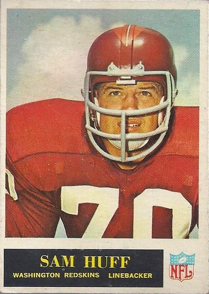 Sam Huff 1965 Philadelphia