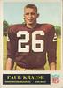 Paul Krause 1965 Philadelphia