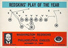 Redskins Play of the Year 1965 Philadelphia