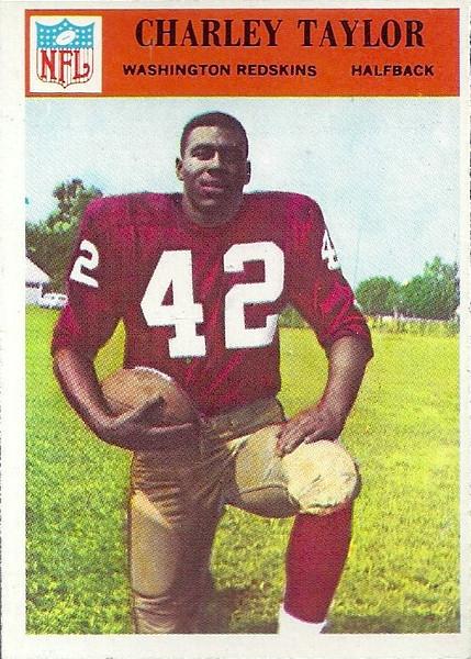 Charley Taylor 1966 Philadelphia