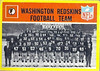 Redskins Team Card 1967 Philadelphia