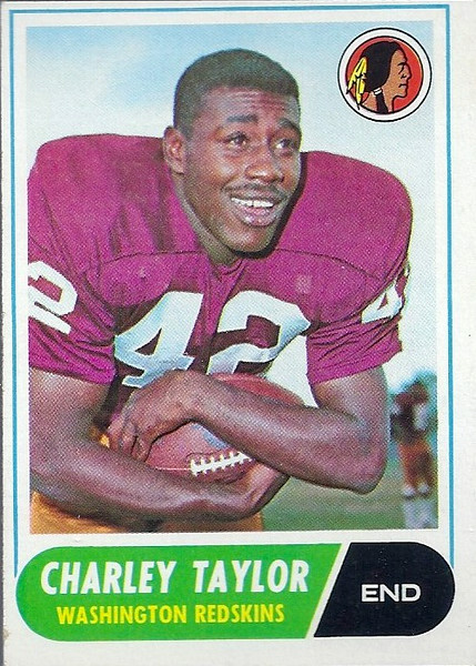 Charley Taylor 1968 Topps