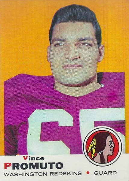Vince Promuto 1969 Topps