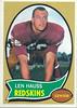 Len Hauss 1970 Topps