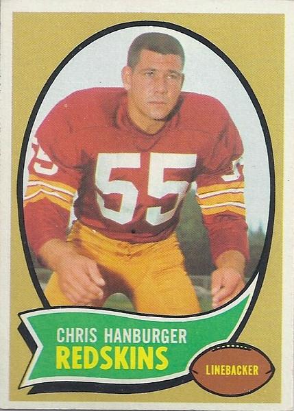 Chris Hanburger 1970 Topps