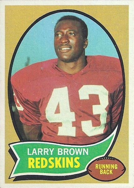 Larry Brown 1970 Topps
