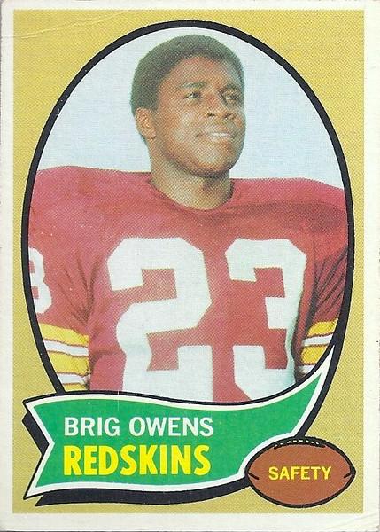 Brigg Owens 1970 Topps