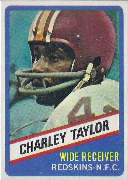 Charley Taylor 1976 Wonder Bread