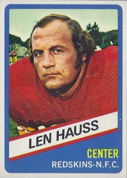 Len Hauss 1976 Wonder Bread