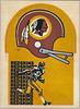 1976 Sunbeam Bread Die Cut Redskins