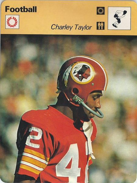 Charley Taylor 1978 Sportscaster