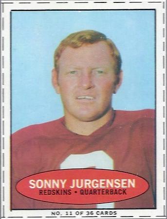 Sonny Jurgensen 1971 Bazooka