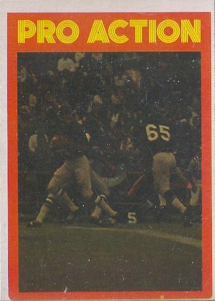 Joe Theismann Pro Action 1972 O-Pee-Chee CFL
