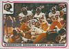 1976 Fleer Team Action Stickers Redskins Defense
