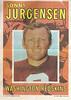 Sonny Jurgensen 1971 Topps Poster