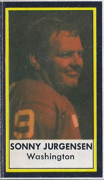 Sonny Jurgensen 1972 Dell Photos