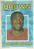 Larry Brown 1971 Topps Poster