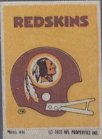 1972 Sunbeam Bread Redskins Helmet Sticker