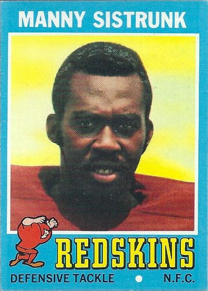 Manny Sistrunk 1971 Topps