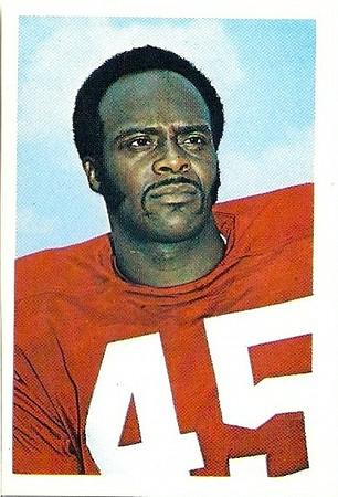 1972 NFLPA Stamps Speedy Duncan