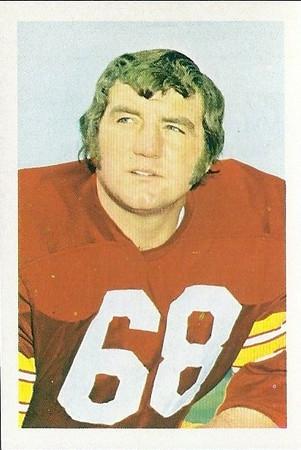 1971 1972 NFLPA Stamps Myron Pottios