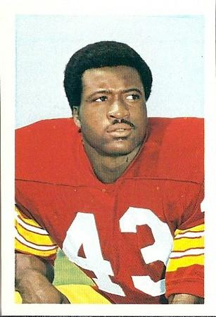 1971 / 1972 NFLPA Stamps Larry Brown