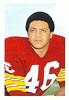1971 NFLPA Stamps Rickie Harris