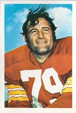 1972 NFLPA Stamps Ron McDole