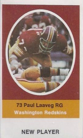 Paul Laaveg 1972 Sunoco Stamps