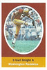 Curt Knight 1972 Sunoco Stamps