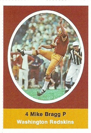 Mike Bragg 1972 Sunoco Stamps