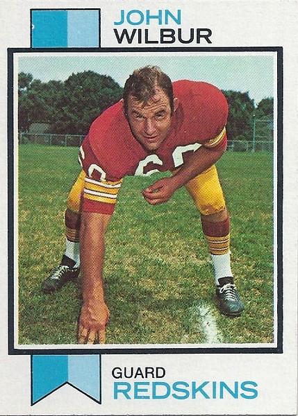 John Wilbur 1973 Topps
